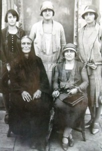 2 Mary Kaimakis far rignt, 1920s