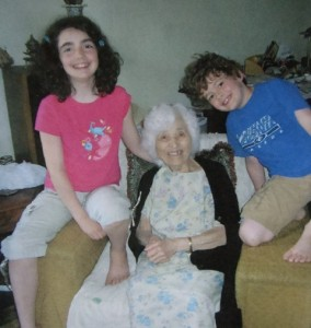 20 Deanna, YiaYia Georgia, and Andrew, circa 2007
