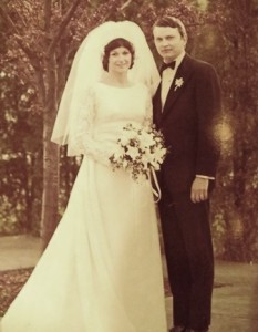 20 Voula and Mike Dodd wedding, 1972