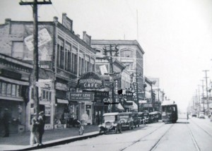 25 Seattle Cafe on Heron Street , circa 1920s