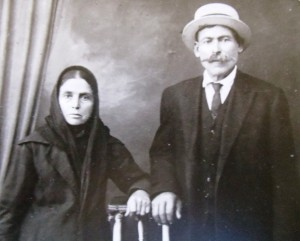 3 Maria and Vasili Farmasonis,  Basil and Vicki's maternal grandparents, circa 1900