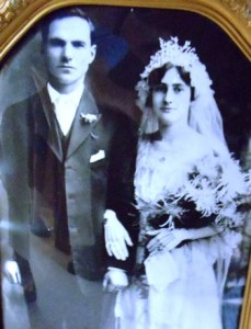 3 Mike and Fannie wedding, pre 1920