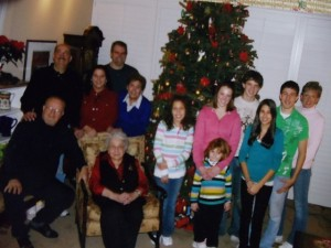 30 Andrew Ballasiotes family (Andy seated at left, Ida third from left) 2008