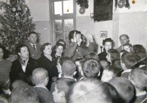 4 Ted teaching in Vouliagmeni Orphanage, 1953