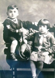 5 Brother Chris and sister Mary, 1920s