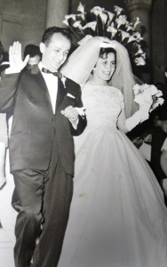 5 George and Meripi wedding, Friday, April 19, 1963
