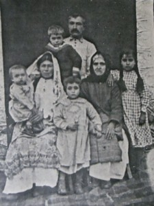 5 Georgia's family in Greece, circa 1921