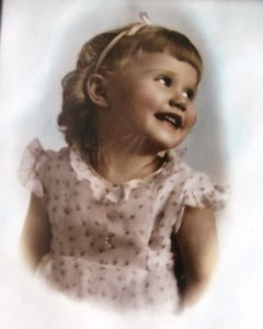5 Mary at age 3 or 4