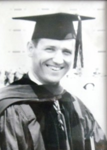 5 Ted receives his doctorate, 1962