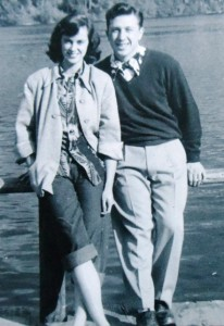 6 Molly and John, Lake Wilderness, 1954