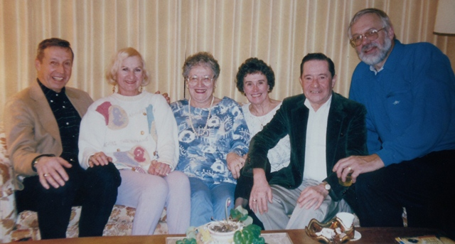 6 SCARLATOS SIBLINGS, CIRCA 1994