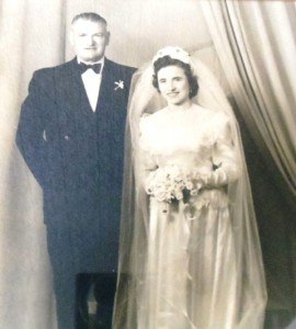 7 Andrew and Georgia wedding, 1951