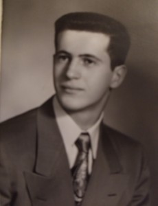 8 Andrew's high school graduation, 1951