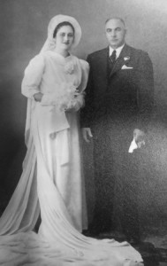 8 Antonios and Evangelia wedding, 1939