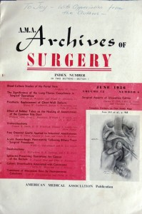 8 Archives of Surgery, 1956