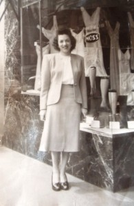 8 Ethel at Moss Stores, 1947-1949