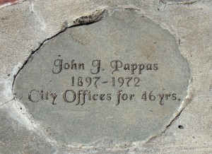 8 John Pappas stone, Soap Lake