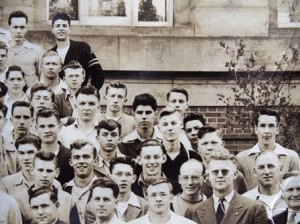 8 Panos (center) with Future Farmers of America, 1945