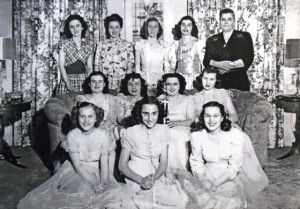 8 SPOKANE MAIDS 1950