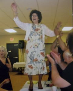 MARINA TABLE DANCING AT 84