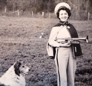 MARINA on the farm with SPOT 1940