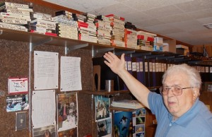 Spiro with Greek Radio Hour Tapes and Document files