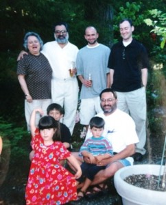 16 Molly and family, 1999