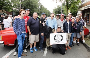 GREEKS ON THE STREETS – Greenwood Car Show, 2014