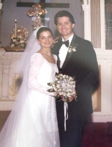 4 Julie and Chis wedding, 1981