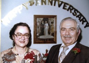 8 Mary and Larry Rouvelas, 40th Anniversary, 1982