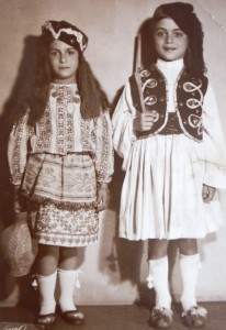 10 Athena and Costa in costume, early 1950s