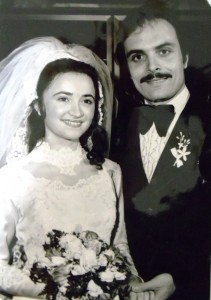 18 Rita and Costa wedding, 1973