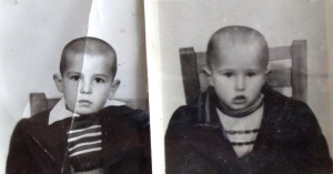 6 Jim and Perry green card photos, 1953
