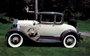 13 1930 Ford 2-door deluxe coupe