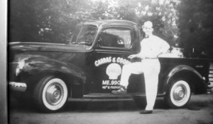 17 GUS AND TRUCK, early 1950s