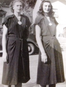 5 Audrey and Tasia, mid 1940s