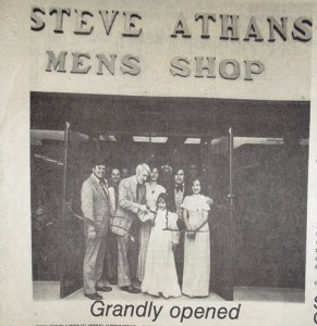 10 West Seattle Shop with Mayor Uhlman, 1976