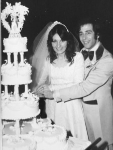 14 Katerina and john wedding 1977
