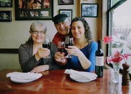 17 Katerina, John and Ourania at Plaka, Ballard News Tribune, 2012