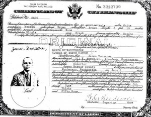 3 James' Citizenship, 1930