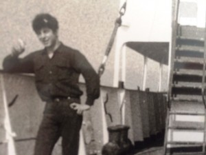 5 John in the Greek Merchant Marines, circa 1966