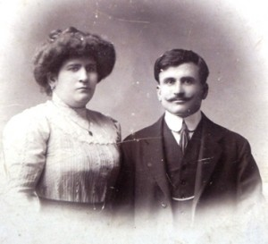 6 Maternal grandparents, Eleni and Vasili Constantinidis, 1900s