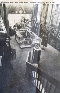 9 West Seattle Shop, 1976