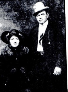 Nicholas Lolos and his new bride, the former Blenda Estella Jernberg. They were married December 27, 1916, in Salt Lake City. (Andy & Joanne Lolos photo)