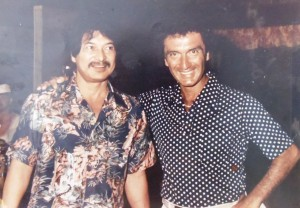 11 Don Ho and john in Hawaii, circa 1980