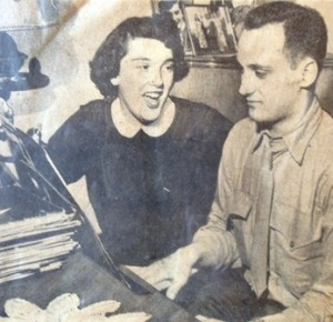 11 HELEN AND TOM, 1951  newspaper article