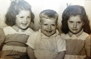 15 Peggy, Mike and Anna, circa 1950