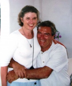 19 Janice and John on Paros, 2000