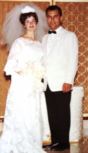19 Peggy and Manuel wedding 1967