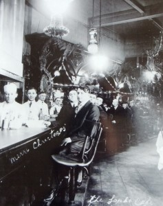 2 Sapho cafe  l r chris pallis  Malevitsis Martin and Apostolou  1920